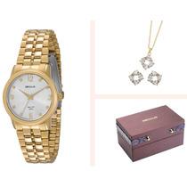 Relógio Seculus Feminino Long Life 23361lpsbda1k