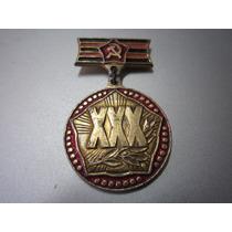 Medalha Do Exército Vermelho - Wwii - Original
