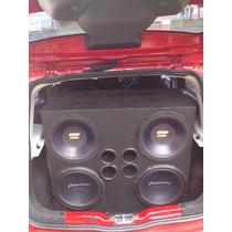 Auto Falantes Nitro 700rms, Auto Falantes Street Bass 350rms