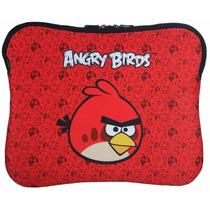 Case Capa P/ Notebook Laptop Angry Birds 10 A 14 Polegadas