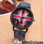 Relógio Feminino Grã Bretanha Azul