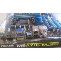 Placa Mãe M5a78lm Usb3 Não Funciona Rede+ Phenom Ll X6 1090t