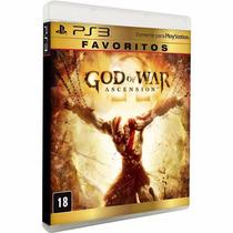 God Of War Ascension Ps3 Em Português Mídia Física Lacrado