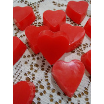 50 Mini Corações - Sabonete Artesanal - Lembrancinha