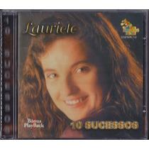 Cd Lauriete - 10 Sucessos [bônus Playback]