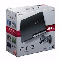 Playstation 3 Sony Ps3 320gb - Jogo Assassins Creed Iii