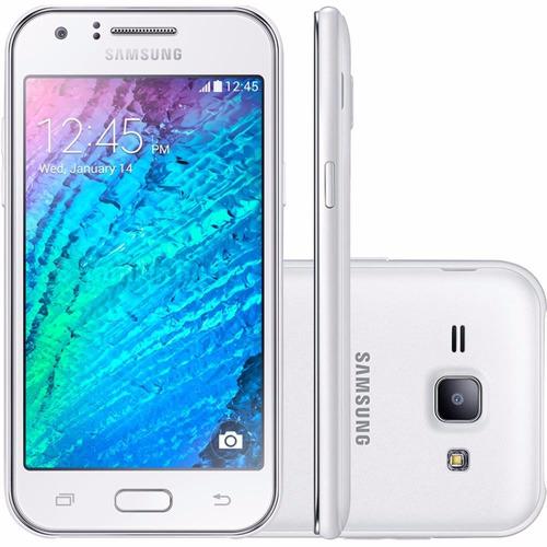 Samsung J100 Galaxy J1 Dual Branco Wifi Fm 3g 4gb 5mp Nf - e