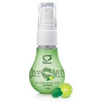 Gel Comestivel Doce Beijo Hot Caipirinha 15ml - Sexy Fantasy
