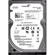 Hd Seagate Momentus Para Notebook 500gb 7200 Rpm Garantia