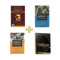Perguntas Difíceis De Responder Coleção 4 Vol. Elias Soares