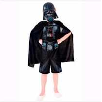 Fantasia Infantil Darth Vader Curto Importado Exclusiva