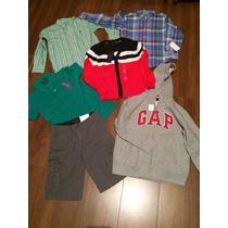 6 Anos Ralph Lauren, Gap E Tommy- Camiseta, Moletom