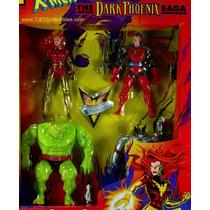 X Men - The Dark Phoenix Saga - Quatro Figuras - Toy Biz
