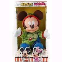 Boneco Mickey Baby Original Multibrink Disney