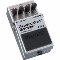 Pedal Feedbacker E Booster De Guitarra Fb2 Boss C/nf