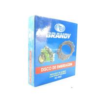 Disco De Embreagem Fricção Jogo Kit Brandy - Xt 225 Tdm 225