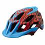 Capacete Fox Flux Cauz Blue Ciclismo Bike Mtb L / Xl 2016