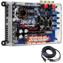 Modulo Amplificador Sd400 X4 Nano Digital 400w Rms 4 Canais