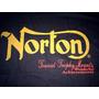 Moto Norton - Camiseta Oil Leak Tam. M - Importada Nova !!
