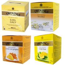 Chá Kit 4 Caixas De Chá Twinings Of London Vários Sabores!!