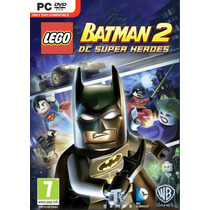Jogo Lego Batman 2: Dc Super Heroes Pc Português Mídia Físic