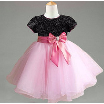 Vestido Infantil De Festa Importado Tamanho 1 A 8 Anos