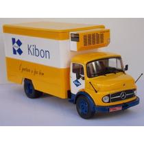 Miniatura Caminhão Mercedes Benz 1113 Kibon - 1/43