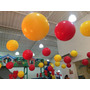 Kit 50 Bolas E 50 Ganchos Para Decoração Festas Aniversários