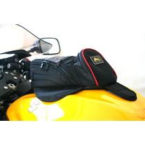 Bolsa Mala P/ Banco Moto Triumph Harley V-strom Impermeável