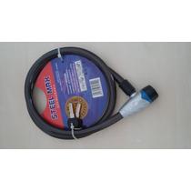 Cadeado Moto Espiral - Corrente Anti Furto Azul - Pca1455