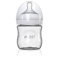 Mamadeira De Vidro - Natural Philips Avent Pétala 120ml