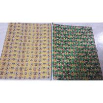 Placa De Borracha Microporosa Estampada Infantil 60 Unidades