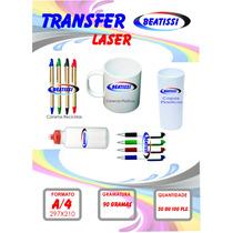 Papel Transfer Para Impressora A Laser / Led - 20 Folhas