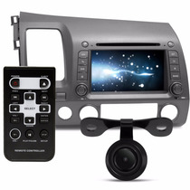 Central Multimidia Honda New Civic 2007 A 2011 Dvd Gps Tv