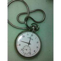 Relógio De Bolso Minerva A Corda
