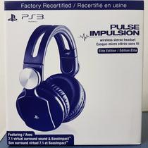 Headset Wireless Pulse Elite Edition Ps4 Ps3 Ps Vita Pc