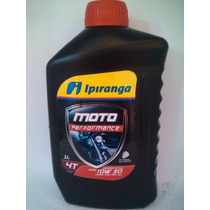 01 Oleo Ipiranga 10w-30 Api Sj Semisintetico Bros160 Cb500