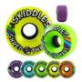 Rodas Sector 9 Skiddles 70mm 78a Coloridas Longboard Skate