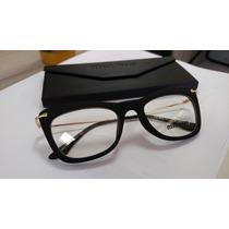 Armação Óculos De Grau Feminina Gatinho Preta