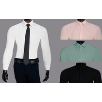 Camisa Social Masculina Promoção Branca Original
