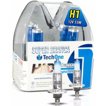 Lampada Super Branca H1 Tech One Farol Alto Vectra E Gt