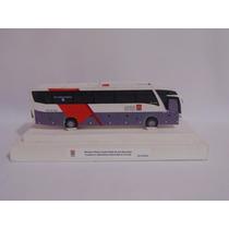 Miniatura Ônibus Viação Cidade Do Aço Marcopolo G7 1200
