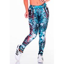 Calça Legging Fitness Leg Lipsoul Girls Panicat 2348