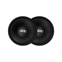 Kit Com Alto Falante Mid Bass Qvs 8mgs400 400w Rms