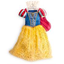Fantasia Princesa Disney Branca De Neve Original 2013 Nova