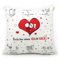 Almofada Personalizada Presente Dia Dos Namorados 30 X 30 Cm
