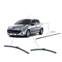 Kit Limpador Parabrisas Peugeot 206 E Sw Dianteiros+traseiro