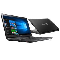 Notebook Vaio Fit 15f Intel® Core™ I3-5005u, 1tb, 4gb