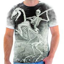 Camisa Camiseta Caveira Cavalo