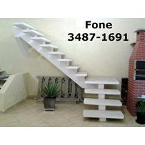 Escada De Concreto Pré Moldada Fabricada - Viga Central